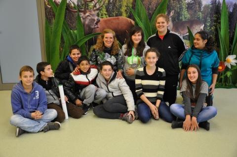 На гости в Природозащитен туристически център гр. Сливен