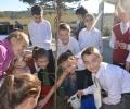 """С ученици от V б клас от ПМГ """"Добри Чинтулов"""" гр. Сливен"""